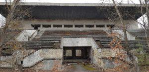 stadium in Prypjat